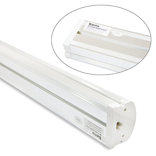 (Pack of 2) Barrina 4ft 45 Watt Extendable Utility LED Shop Light Workbench Light 6500K Super Bright White 4500lm 300W Equivalent Built-in ON/Off Switch Frosted Linear LED Light Bar by Barrina (Image #8)