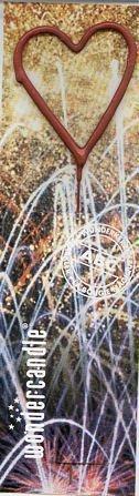 Wunderkerze in Herzform ca. 6cm wondercandle