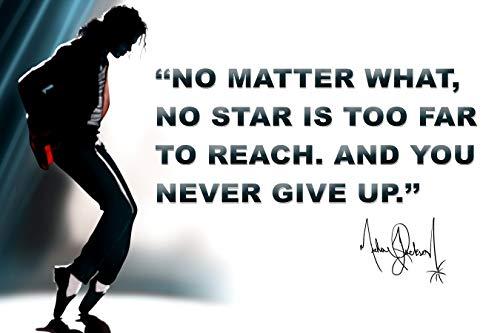 Michael Jackson Poster Quote Classroom Décor MJ King