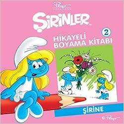 Sirinler 2 Hikayeli Boyama Kitabi Sirine 9789944239264 Amazon