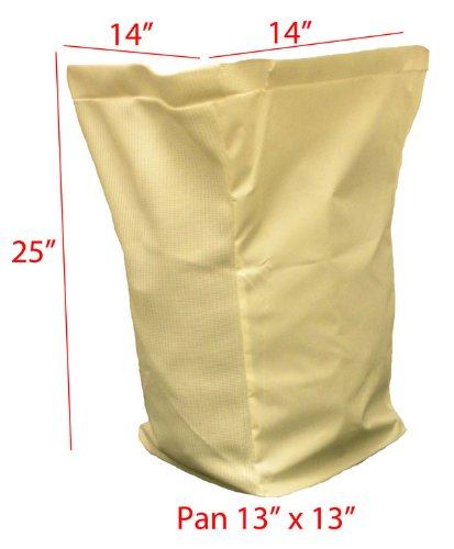 Humboldt John Deere Old Rear Rider replacement grass bag. Bag ONLY - Price is per single bag