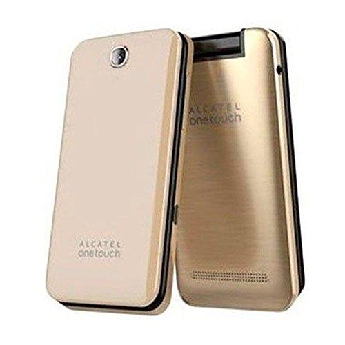 Alcatel-2012D-Gold-Mvil-libre-16-MB-cmara-de-315-Mp-pantalla-de-28-color-dorado