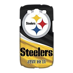Custom Your Own Personalised Hard NFL Pittsburgh Steelers SamSung Galaxy S3 I9300 Cover, Snap On NFL Pittsburgh Steelers SamSung S3 Case