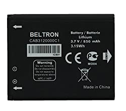 Image of the product New 850 mAh CAB3120000C1 that is listed on the catalogue brand of BELTRON.