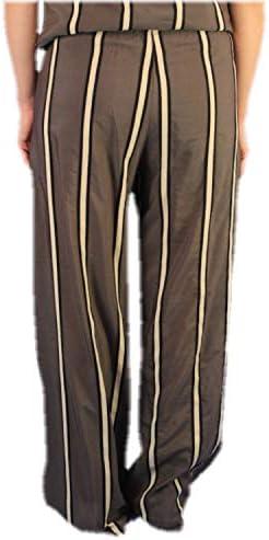 Tissu Rose Pantalon Femme Marron Oberdan
