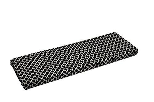 Black White Geometric Hockley Print 3