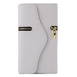 Wallet PU Leather Case for Samsung S5 I9600 (Assorted Colors),Rose