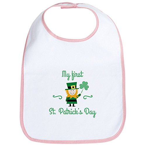 [CafePress - My First St. Patrick's Day - Cute Cloth Baby Bib, Toddler Bib] (Cute St Patricks Day)