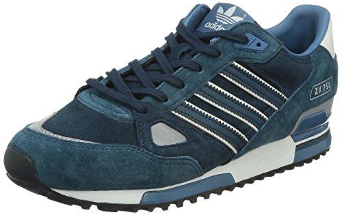 adidas, ZX 750, Scarpe Sportive, Uomo, Multicolore (DPETRL/DPETRL/Whtvap), 46 2/3: Amazon.it: Scarpe e borse