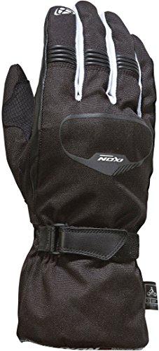 Rush Motorcycle Gloves - Motorcycle gloves IXON Pro Rush Black/White, Black/White, S