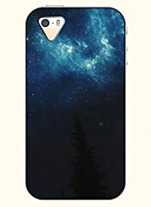 OOFIT Phone Case Design with Night Sky for Apple iPhone 5 5s 5g