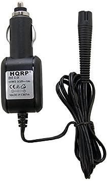 HQRP Cargador de coche para Braun Series 3 modelo 330s-4, 320s-4 ...