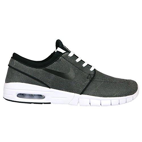 Nike STEFAN JANOSKI MAX L Mens Sneakers (10.5, Black/white/wolf Grey/black)