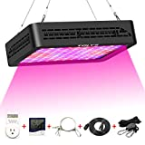 Plant Grow Light,Tolys 2019 Double Switch 1000W LED Grow Lights with Timer