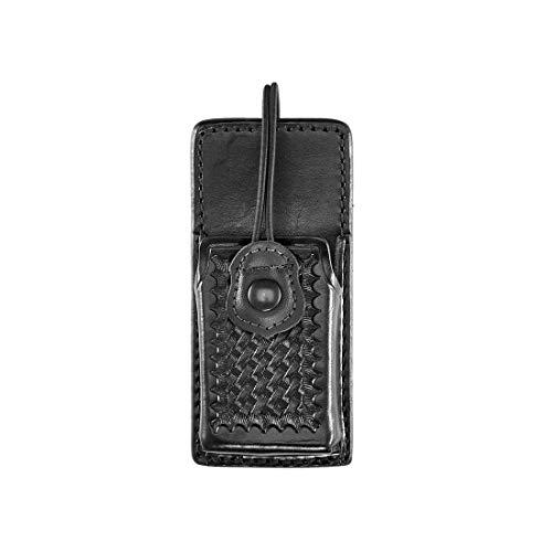 Aker Leather Products Swivel Radio Holder 588 Swivel Radio Holder, Basketweave, Motorla XTS3000, Black
