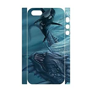 ancient giant fish iphone 5 5s Cell Phone Case 3D 53Go-298090