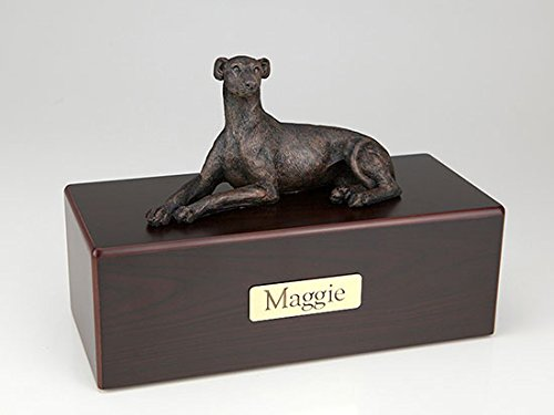Ever My Pet Greyhound Whippet Economy Bronze Series Dog Pet Urn