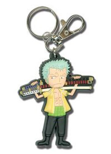 One Piece SD Zoro with Sword Key Chain (Lady Zoro)