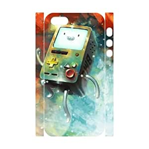 Diy Beemo Adventure Time 3D Phone Case, DIY Hard Back Cover Case for iPhone 5/5G/5S Beemo Adventure Time