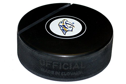EBINGERS PLACE Nashville Predators Hockey Puck Business Card Holder