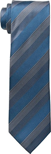 Kenneth Cole Reaction  Men's Elegant Stripe Teal One (439 Sheer)