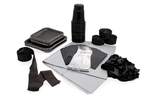 [Party Decorations - Black Assorted Party Decorations] (Viking Outfits For Adults)