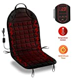 Zone Tech Car Heated Seat Cover Cushion Hot Warmer - Fireproof NEW