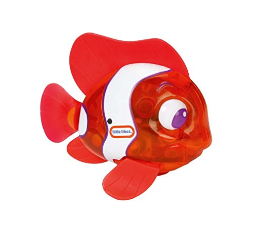 Little Tikes Bath (Little Tikes Sparkle Bay Flicker Fish Water Toy - Clown Fish)