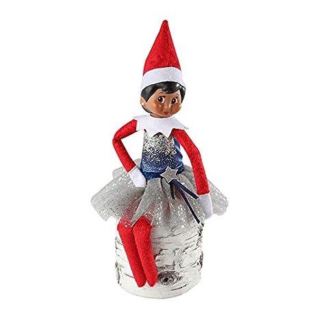 Amazon.com: Elf On The Shelf Set: Vestido Shimmer Snazzy ...