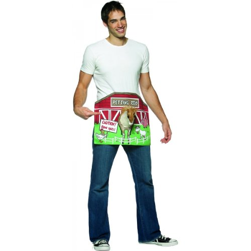 Penis Costumes Adult (Petting Zoo Costume Adult Costume Accessory - One)