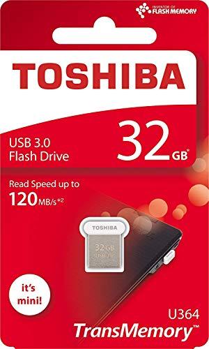 Toshiba USB3.0 Flash Drive 32GB USB 3.0 Flash Disk TransMemory U364 Mini USB Stick Read 120MB/s (THN-U364W0320A4)