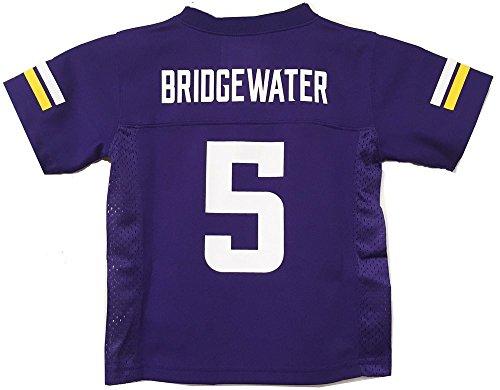 Teddy Bridgewater Minnesota Vikings NFL Kids Purple Home Mid-Tier Jersey (Kids 7)