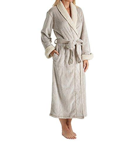Natori Women's Plush Robe, Cashmere, - Fleece Robe Natori
