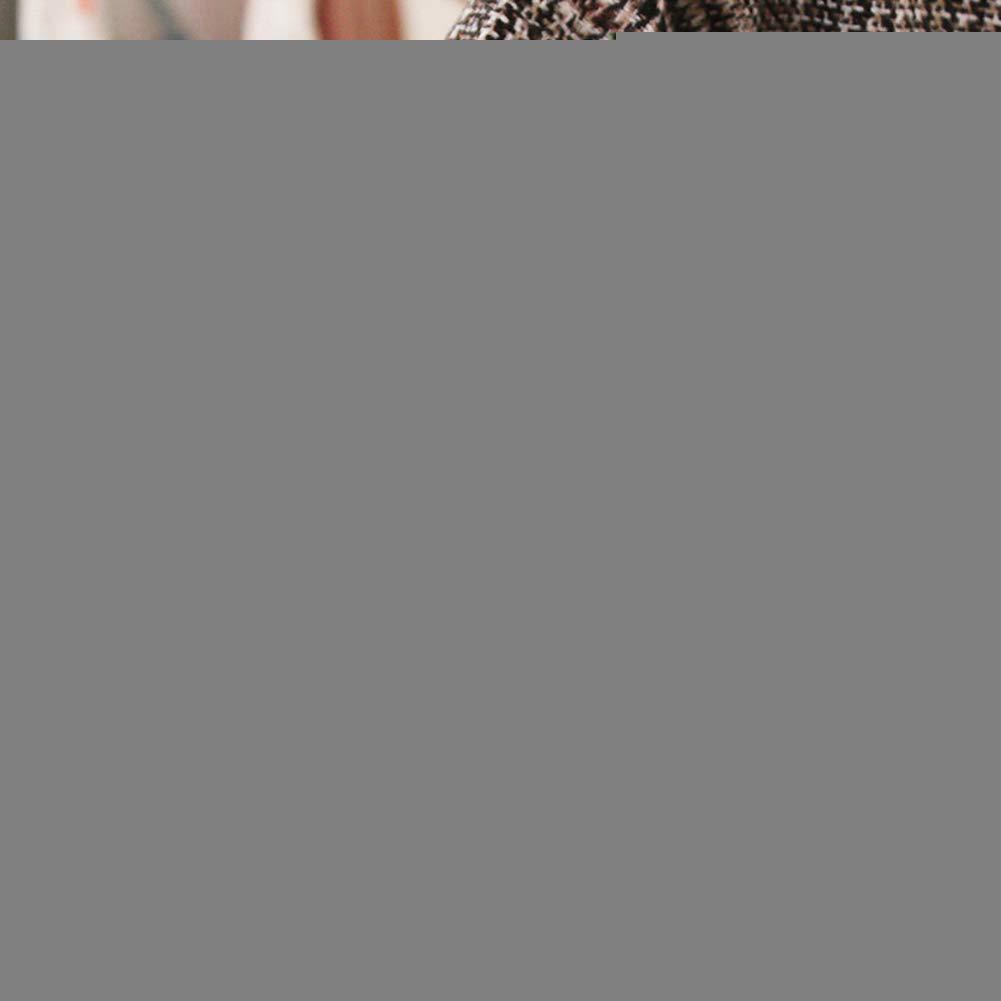 Tangbasi 2Pcs Baby Girl Cute Dress Princess Baby Girl Winter Plush Vest Warm Plaid Long Sleeve Dress Outfit 0-6M