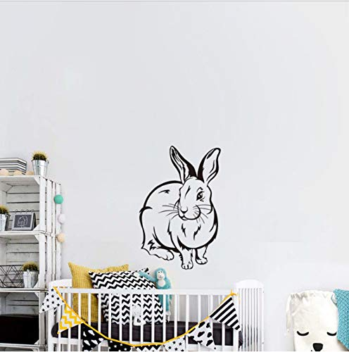 shensc Habitación de los niños Tatuajes de Pared Lindo Conejo Bebé ...