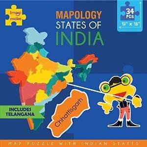 Imagimake Mapology : States of India Map Puzzle