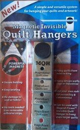 Magnetic Invisible Quilt Hangers by Magnificent Quilting Company