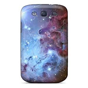 High Quality Melodycc Fox Fur Nebula 9158 Skin Case Cover Specially Designed For Galaxy - S3