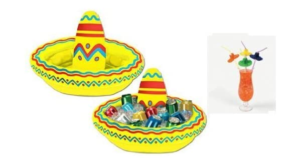 Amazon.com: Fiesta Party Decorations – Pajitas para Bebidas ...