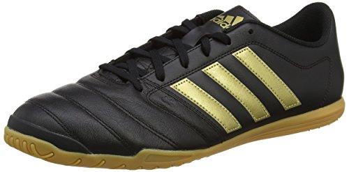 Adidas AQ4147, Zapatillas de Fútbol Hombre Negro (Core Black/Gold Met/Core Black)