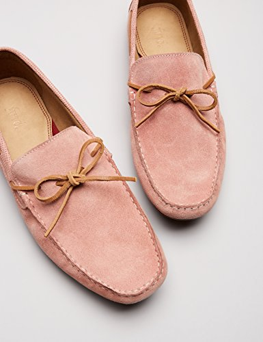FIND Rosa Uomo Mocassini Pink Scamosciati Pwq4WPar8x
