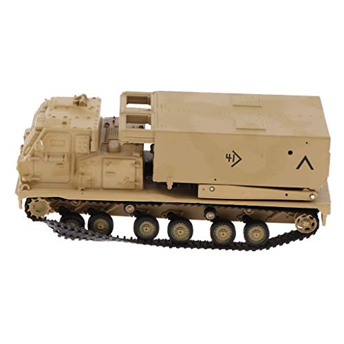 - Flameer 1:72 M270 MLRS Multiple Launch Rocket System Tank Launcher Model - World War I Army Vehicle Model Soldier Toy Gifts