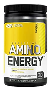 Optimum Nutrition Amino Energy Powder, Pineapple, 270 Gram