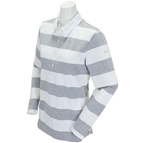 アバカス ABACUS 長袖シャツ?ポロシャツ 長袖ポロシャツ レディス グレー L