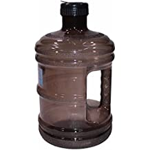CloudWorks BPA Free New Plastic Reusable H2O Water Bottle 1 Gallon Drinking Container 128oz, Jug, Juice, Canteen