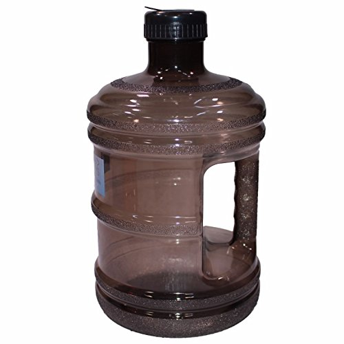 ForestInLA BPA Free New Plastic Reusable H2O Water Bottle 1 Gallon Drinking Container 128oz, Jug, Juice, (128 Oz Jug)