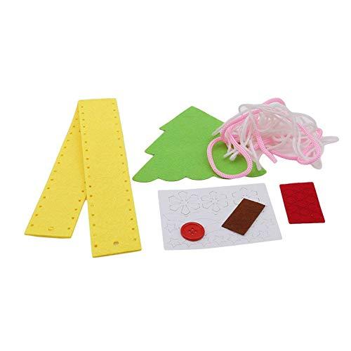 (Party DIY Decorations - Christmas Bag Non Woven Cartoon Backpack Kindergarten Children 39 S Handmade Diy Creative Material - Party Decorations Party Decorations Craft Unicorn Birthday)
