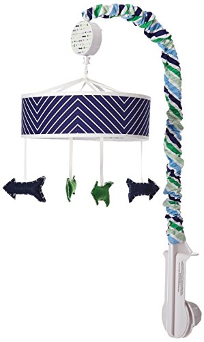 (My Baby Sam Follow Your Arrow Mobile, Navy )