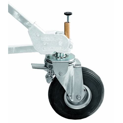 Image of Booms & Stands Avenger B900P Pneumatic Hard Wheel Set for Strato Safe Stands with Tracking System - Set of 3
