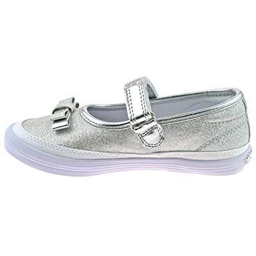 Shoes Shimmer Kelly Argento New 2 Lelli BH01 Ballerina Dolly LK5300 Sprint 35 UK 5 A6zdYx